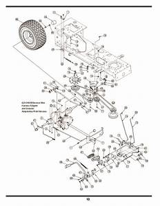 Mtd 600 Hydrostatic Lawn Tractor Mower Parts List