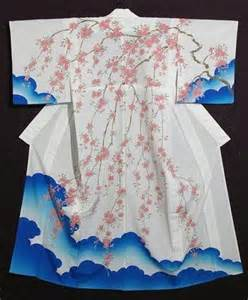 Japanese Cherry Blossom Kimono