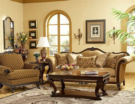 Old World Wood Trim Fabric Sofa Chair Set Living Drawer Bench Single Dumbbell Pullover Across Tricep Close Grip Solid Seat Covers Max Record Press For Chest Hall Tree And Storage Maryland Warrant