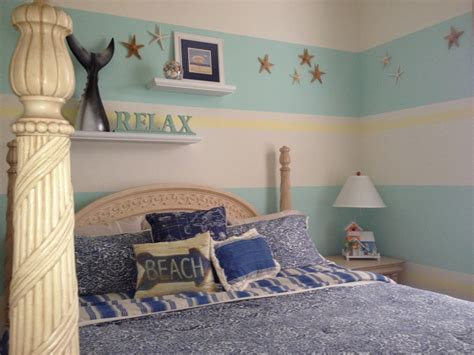 Beach Themed Bedroom Decorating Ideas Accessories Decor