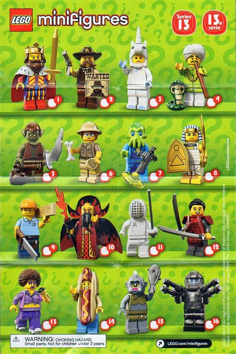 the minifigure collector lego minifigure series 1 13 checklists and visual