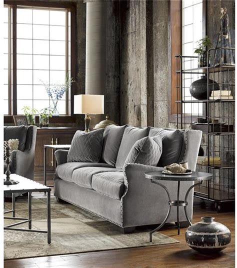 Living Room Furniture 200 by Universal Furniture Living Room Connor Sofa 407501 200