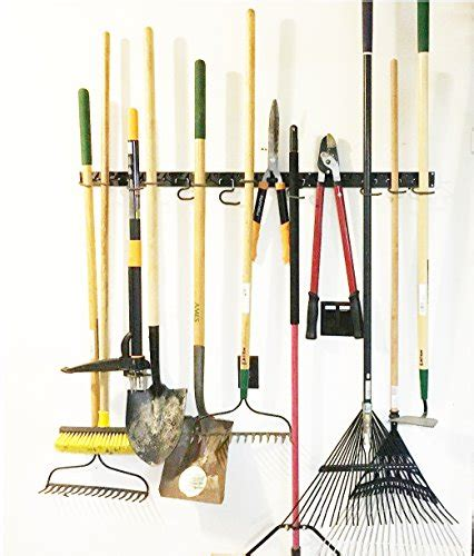 garden tool wall storage adjustable storage system 48 inch wall holders for tools