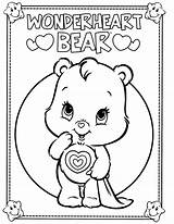 Coloring Bear Bears Care Pages Printable Cheer Carebear Colouring Drawing Bedtime Adult Coloringcolor Sheets Teddy Cousins Wonderheart Wallpapers Books Disney sketch template