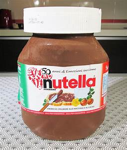 Giant Nutella Jar Cake - CakeCentral.com