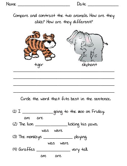 creative writing picture prompts for grade 1