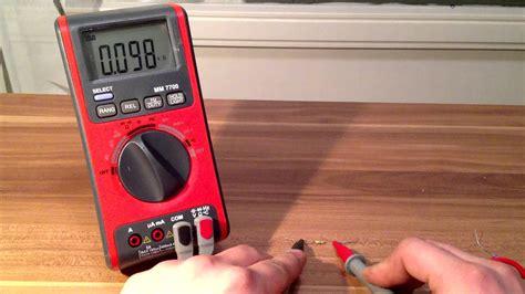 kühltasche mit strom mit dem multimeter messen strom spannung und widerst 228 nde e helfer
