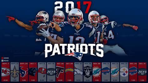 patriots  schedule background patriots