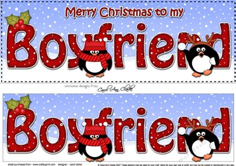 large dl merry christmas to my boyfriend 3d decoupage with penguins cup930476 359 craftsuprint