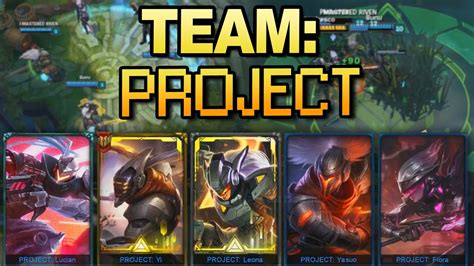 project skins team youtube