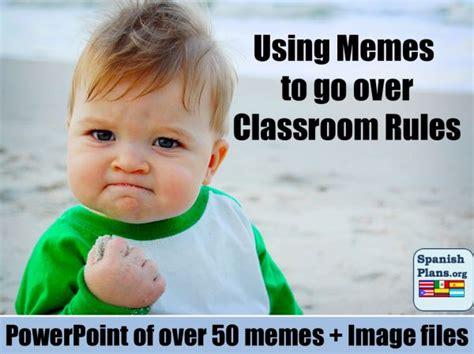 Classroom Memes - using memes for school rules high school ela pinterest