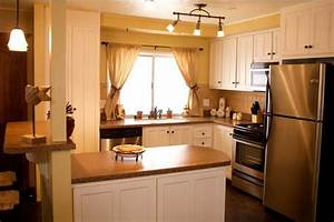 25 great mobile home room ideas for Mobile home kitchen designs and ideas