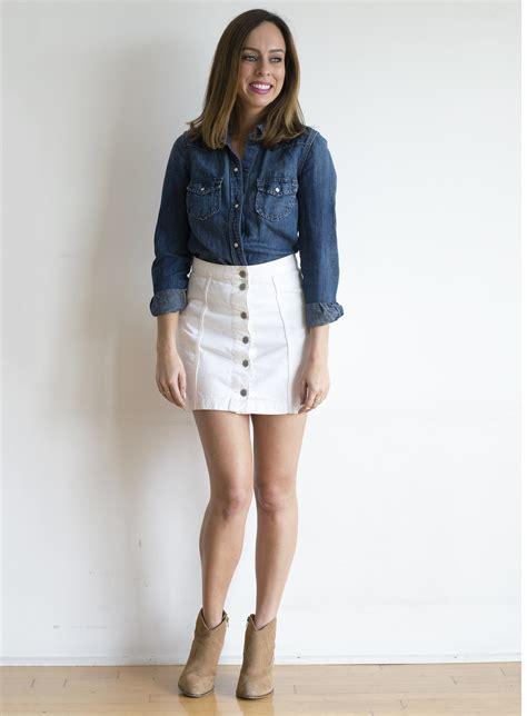 12 Ways to Wear White Denim for Summer | 2017 Summer Fashion Trends