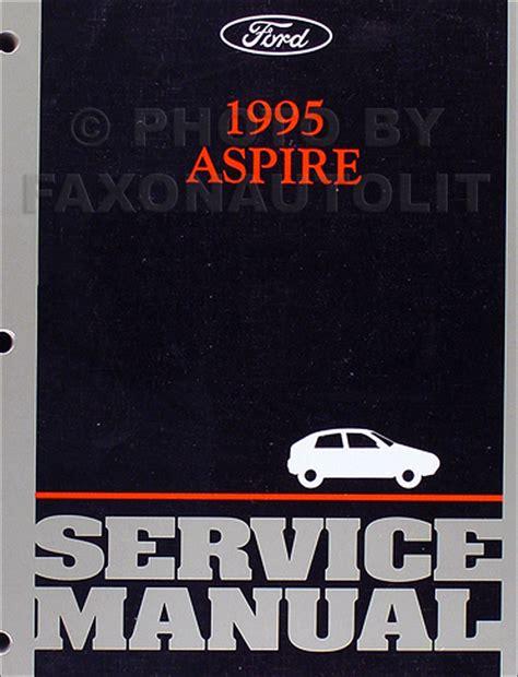 car repair manuals download 1994 ford aspire regenerative braking 1995 ford aspire repair shop manual original