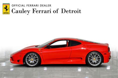 It is finished in rosso scuderia over a rosso alcantara interior. Used 2004 Ferrari 360 Challenge Stradale For Sale ...
