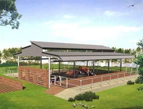 houses plan modern cattle sheds punjab
