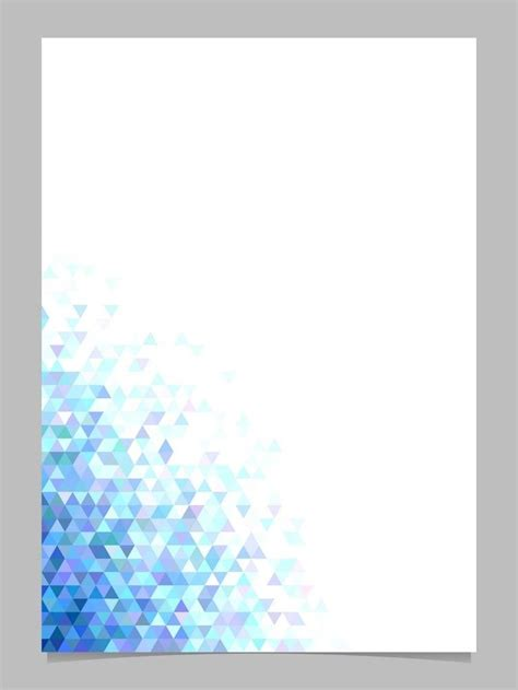 abstract triangle brochure background template polygonal stationery design graphic vector royaltyfree bluedesigns stockimage
