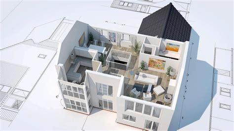 architect floor plans 3d house animation