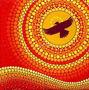 """sun illuminating eagle spirit medicine"" by Elspeth McLean"