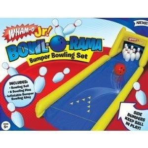 wham game wham o bowl o rama bumper bowling game kids toy walmart