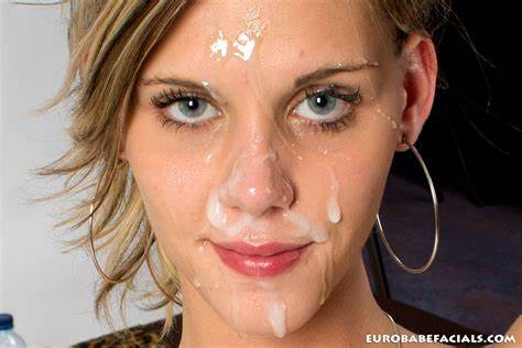 Gooey Situation Is All Over Her Face Sindy Vega Lets Plastered In Dripping Negro Jizz