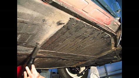 undercoating removal needle scaler vw volkswagen