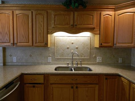 Kitchen Counter And Backsplash Ideas - kitchen kitchen countertop cabinet innovative kitchen backsplash ideas with oak cabinets
