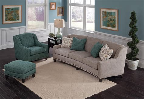 Smith Brothers Recliners by Smith Brothers 227 227 10 Slightly Curved Sofa With