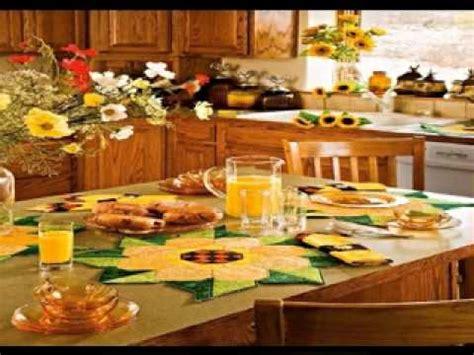 sunflower kitchen decorating ideas youtube