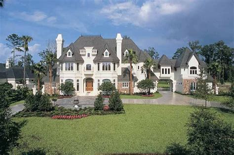 Chateau House Plans by Chateau House Plan With 6462 Square And 4 Bedrooms S
