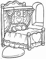 Coloring Bed Hospital Printable Drawing Printables Para Clipart Getdrawings Getcolorings Colorear Building Colorings Objects sketch template