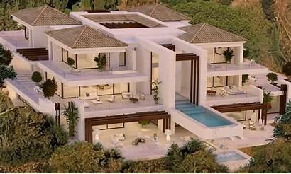 Villa Benahavis Moderne Hillside Luxus Marbella Villas