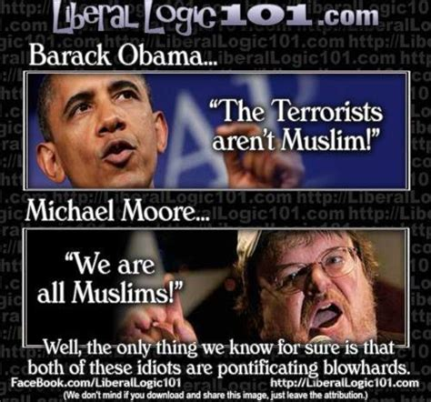 Michael Moore Memes - hilarious meme compares obama and michael moore