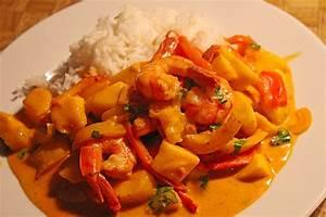 Rezepte Mit Garnelen : curry garnelen mit mango rezept mit bild von ~ Lizthompson.info Haus und Dekorationen