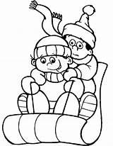 Coloring Sledding Pages Winter Sled January Themed Drawing Snow Theme Obama Michelle Printable Sheets Cartoon Preschool Clipartmag Getcolorings Getdrawings Snowman sketch template