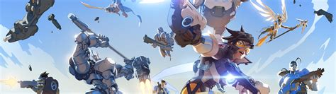Overwatch Anime Wallpaper - overwatch dual monitor wallpaper 73 images