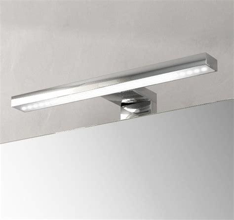 illuminazione led per specchio bagno applique 30x10 luce con led per specchiera da bagno