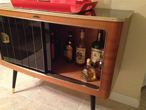 furniture appealing antique liquor cabinet  wooden