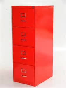 Red Filing Cabinet by Vamp Furniture New Vintage Furniture Stock At Vamp