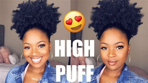 HOW TO GET A PERFECT PUFF ON THICK NATURAL HAIR (TYPE 4A