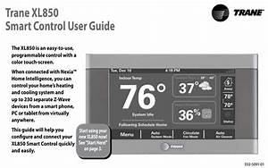 Trane Baystat 240 Thermostat Manual