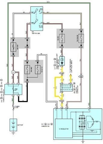 Lexus Charging System Circuit Wiring Diagrams