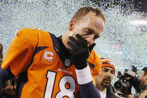 American Football Peyton Manning Reflects On Denvers
