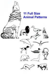 Free Animal Wood Carving Patterns