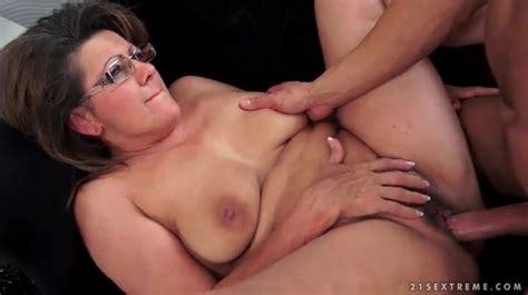 Granny Wears Glasses For Her Hardcore Fucking Granny Porn