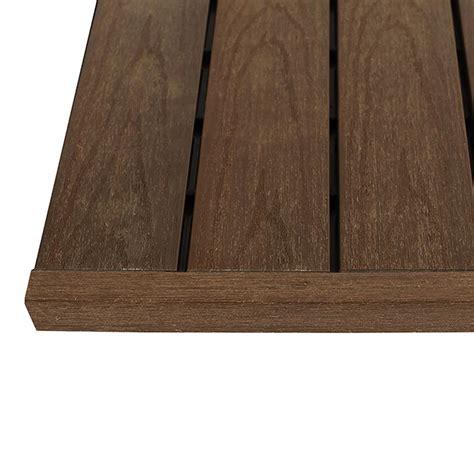 Ipe Deck Tiles Home Depot by Newtechwood 1 6 Ft X 1 Ft Ipe Deck
