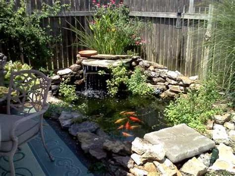 small backyard pond pictures a backyard fish pond
