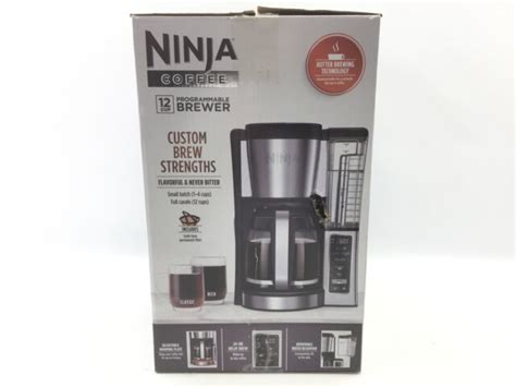 00 list price $132.99 $ 132. *READ* Ninja CE251 12-Cup Coffee Maker Silver   eBay