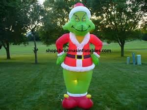 disney grinch christmas airblown inflatables