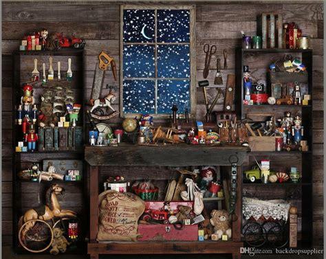 xft christmas blue window mechanic tools barn room